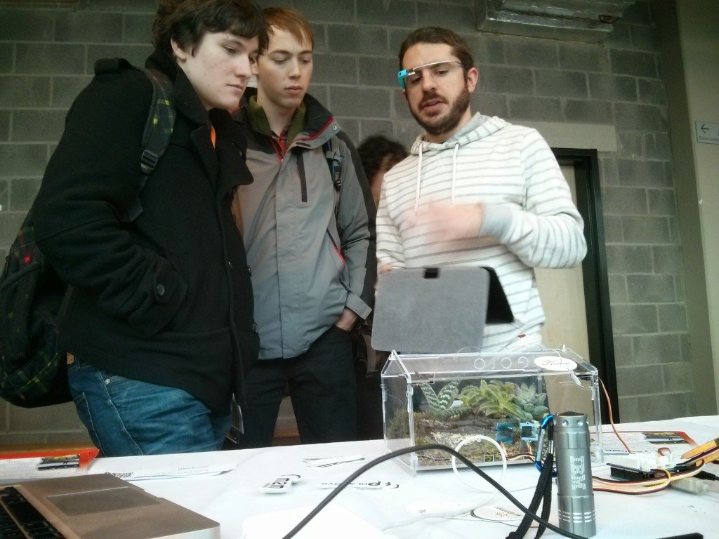 Greenhouse demo at FOSDEM